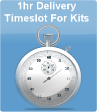 1hr Delivery Timeslot For Kits